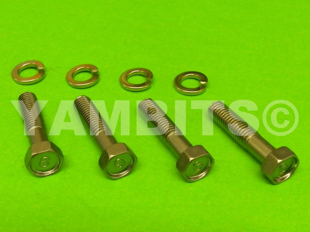 RD350LC Yoke Clamp Bolt Kit Bottom