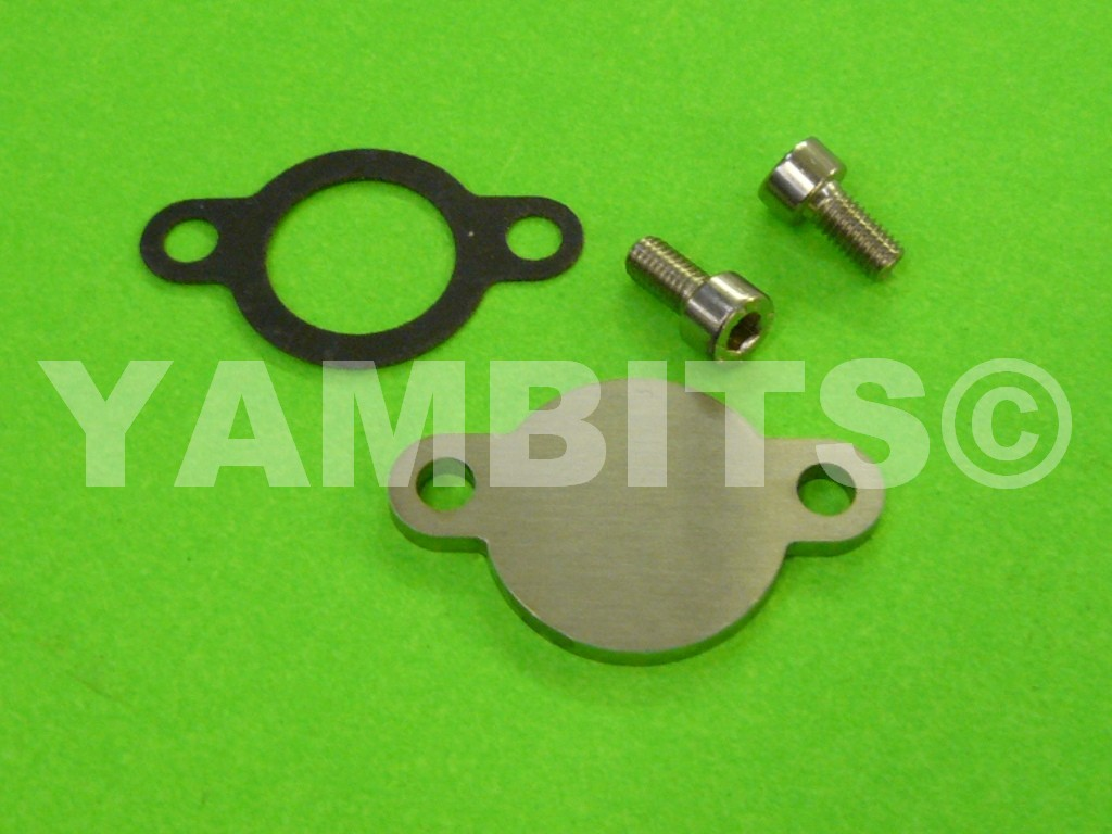 RD350 YPVS LC2 Oil Pump Blanking Kit