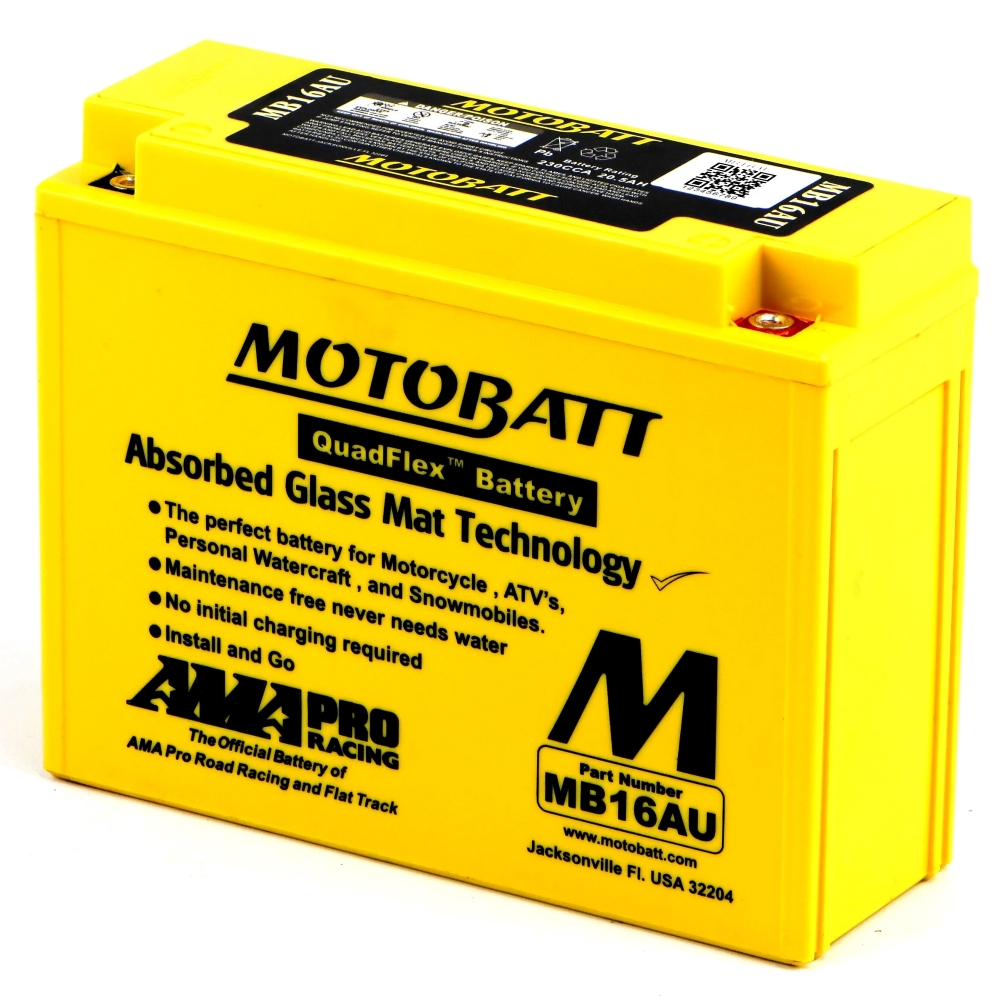 VMX1200 V-MAX Battery Motobatt - Sealed