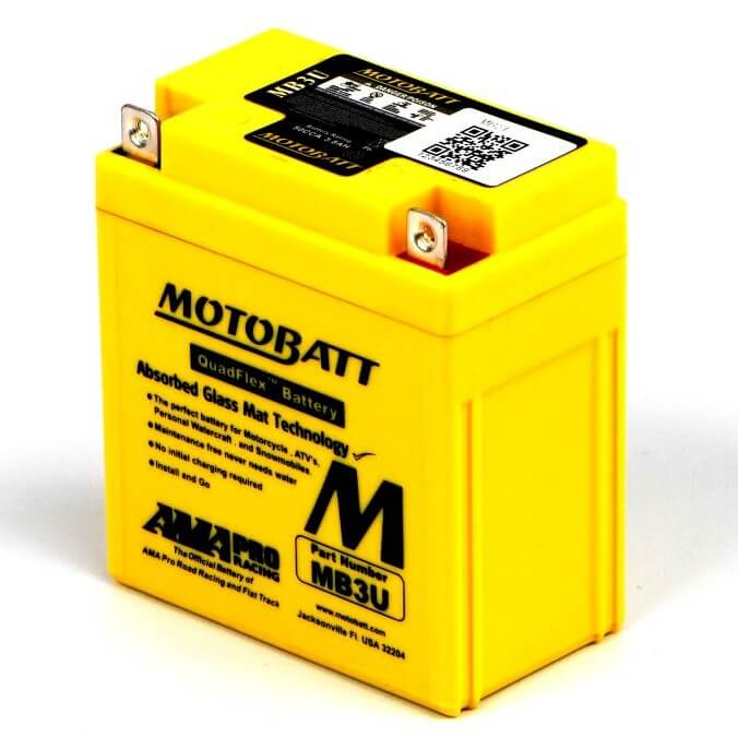 DT200 40R Battery - Motobatt Sealed