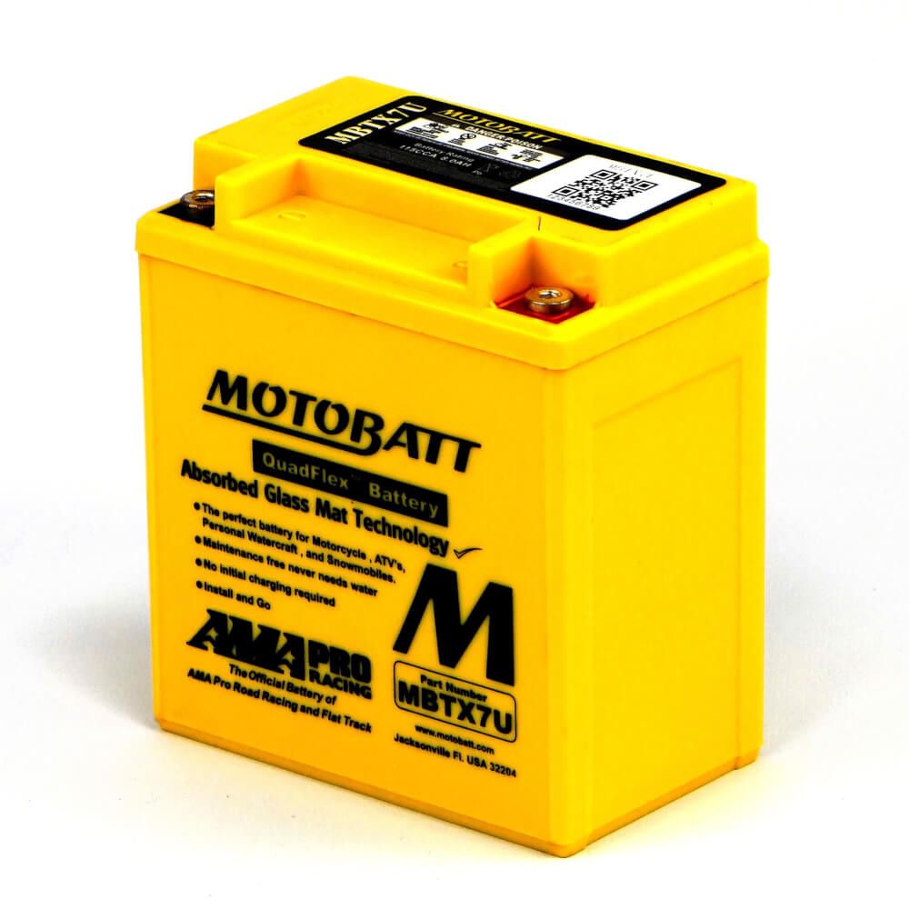 YBR125SPD Battery Motobatt - Sealed
