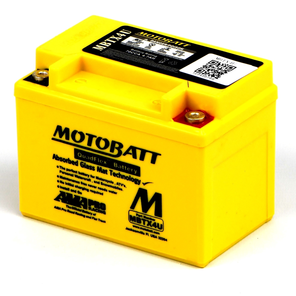 RD400D Battery Motobatt - Sealed
