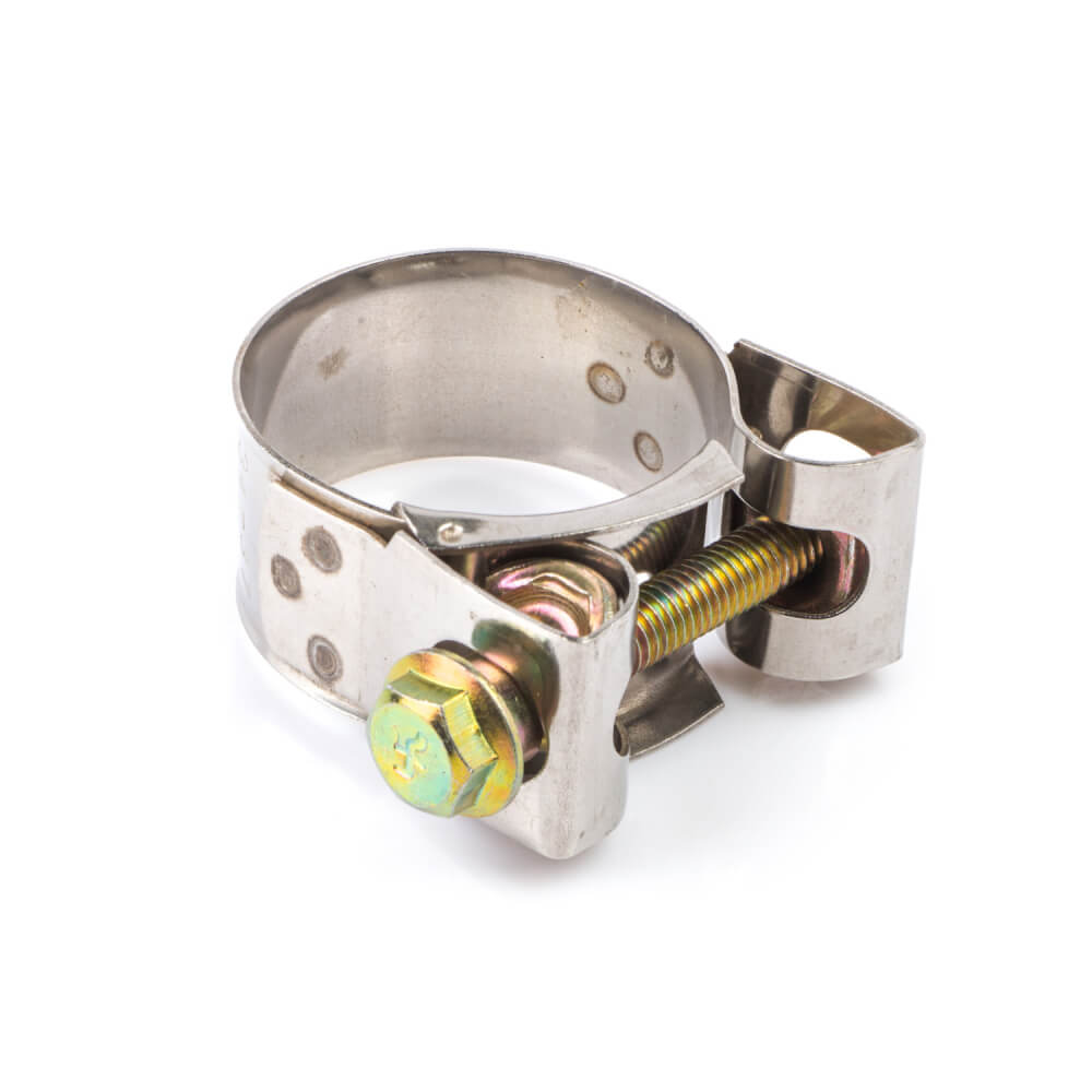 Stainless Steel Exhaust Clamp 34-37mm