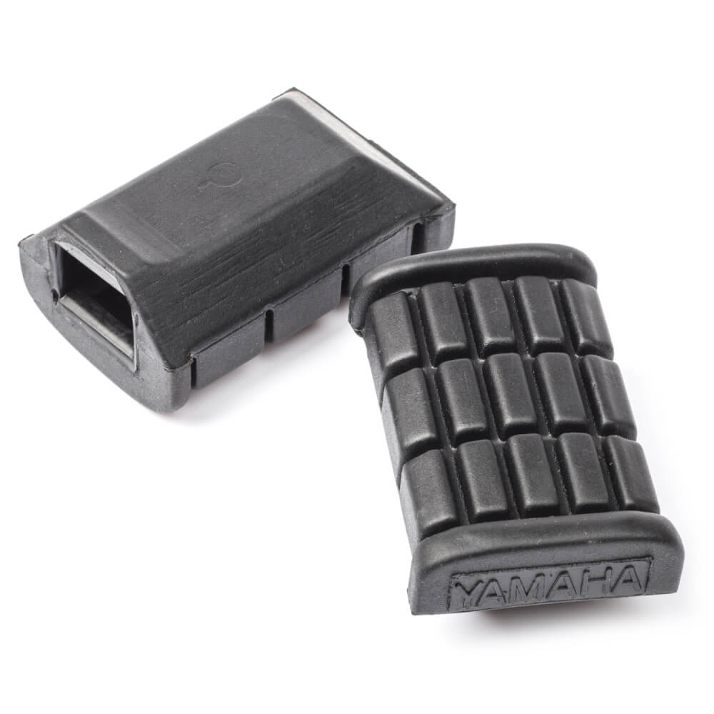 XS1100L Midnight Special Footrest Rubbers Front