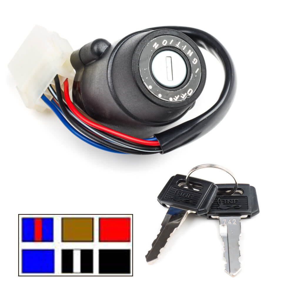 DT125LC MK1 Ignition Switch
