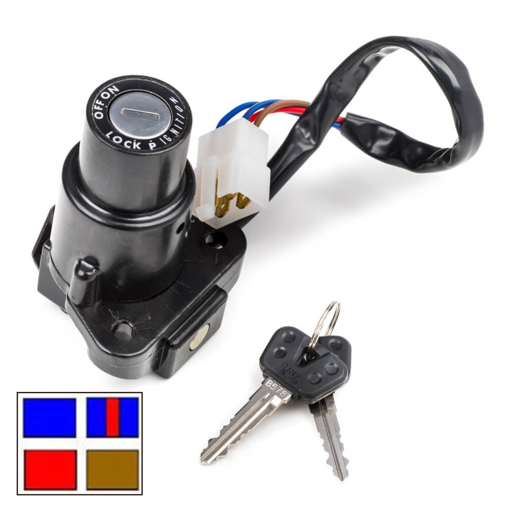 FZX750 Ignition Switch 1987-1989