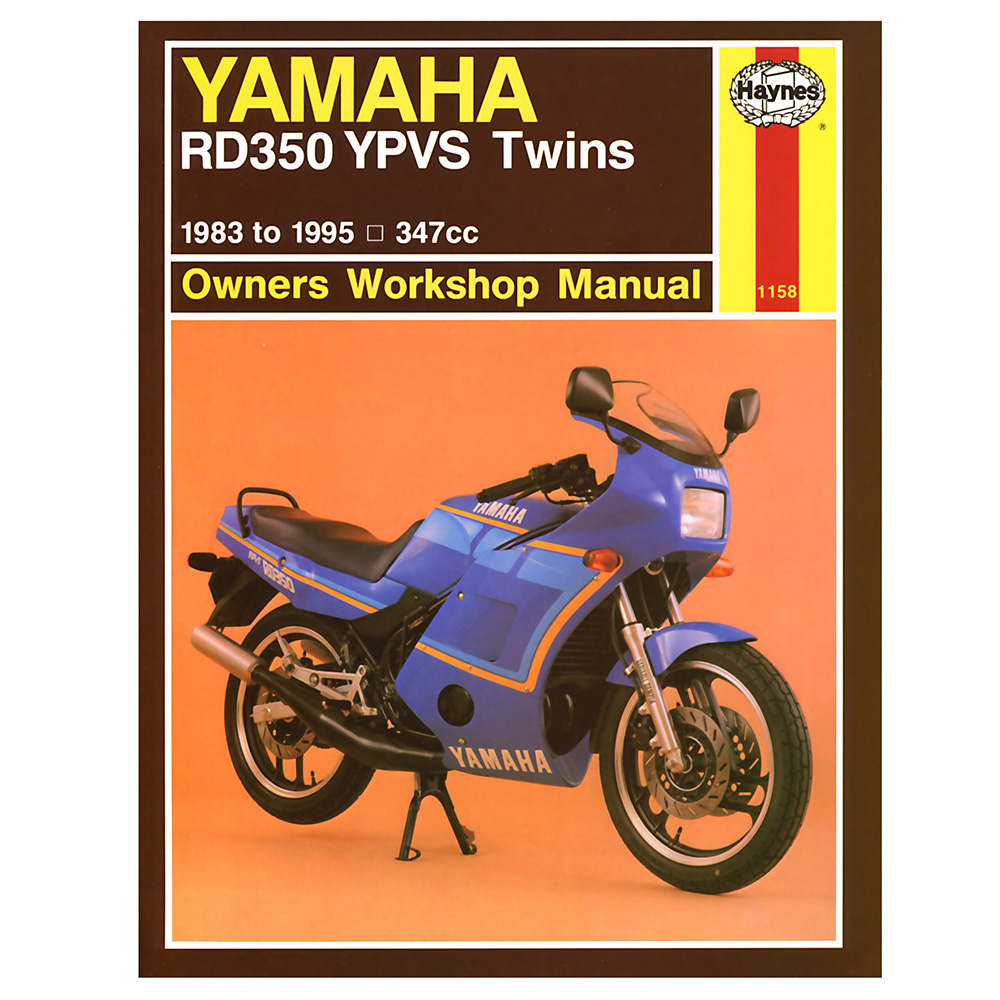 RD350 YPVS F1 Workshop Manual