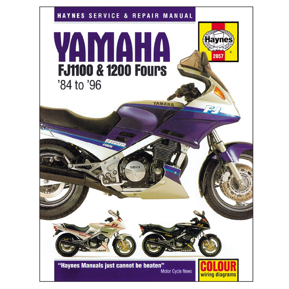 Fj1200 Workshop Manual - Man020