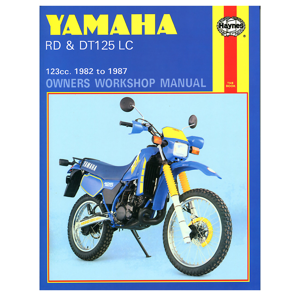 Rd125lc Mk3 Workshop Manual - Man033