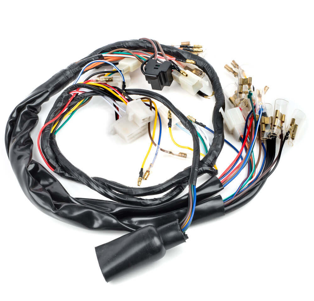 Xs650 Wiring Loom Wrl018 Wiring Looms Electrics Switches Frame Cycle Parts Parts